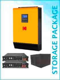 KODAK MKSII 5kW / Pylontech US2000B PLUS 4.8kWh