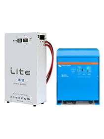Victron Quattro 8KVA / 15/12kWh FW Li-Ion Package