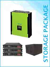 Mecer Plus 5kw Hybrid / Pylon 7.2kwh Package Including Cabinet