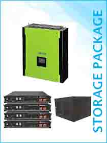 Mecer Plus 5kw Hybrid / Pylon 9.6kwh Package Including Cabinet